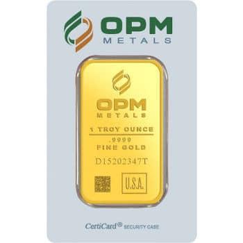 1 oz OPM Gold Bar
