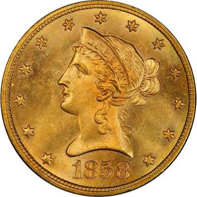 $10 Liberty Gold Eagle