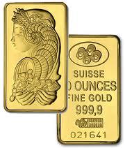 pamp gold bar